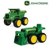 Truck Tractor Play Vehicle John Deere Kids Boys Toddler Toys Sandbox Preschool