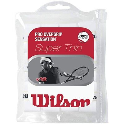 WILSON SENSATION PRO OVERGRIP  30 PACK BLACK TENNIS OVER GRIP PADEL TENNIS