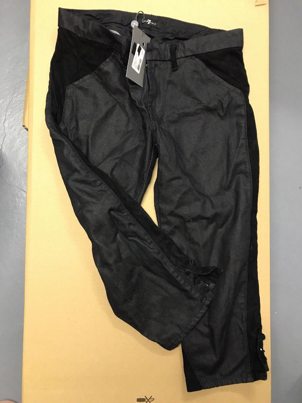 7 For All Mankind 25 Tuxedo Josefina Aus New York Mit Leder (36 ) 295 Dollar