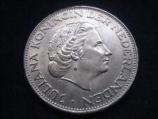"MDS Países Bajos 2 1/2 florines 1963 ""Juliana"", plata"