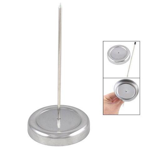 130mm Long Straight Rod Paper Holder Spike Stick Bill Fork For Receipt Desk V5g9