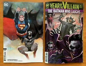 BATMAN-SUPERMAN-4-Main-Cover-Olivier-Coipel-Variant-Set-DC-2019-NM