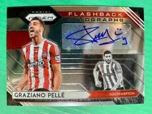 2020-21 Panini Prizm EPL Premier League Flashback Auto Autograph Graziano Pelle