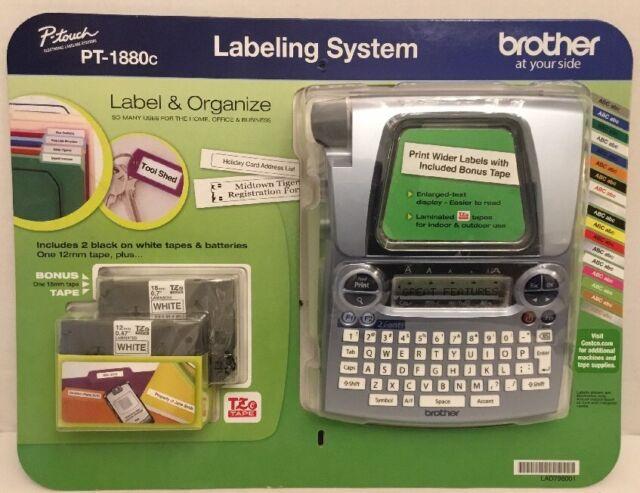 Brother Labeling System Pt1880c P Touch Label Maker Ebay
