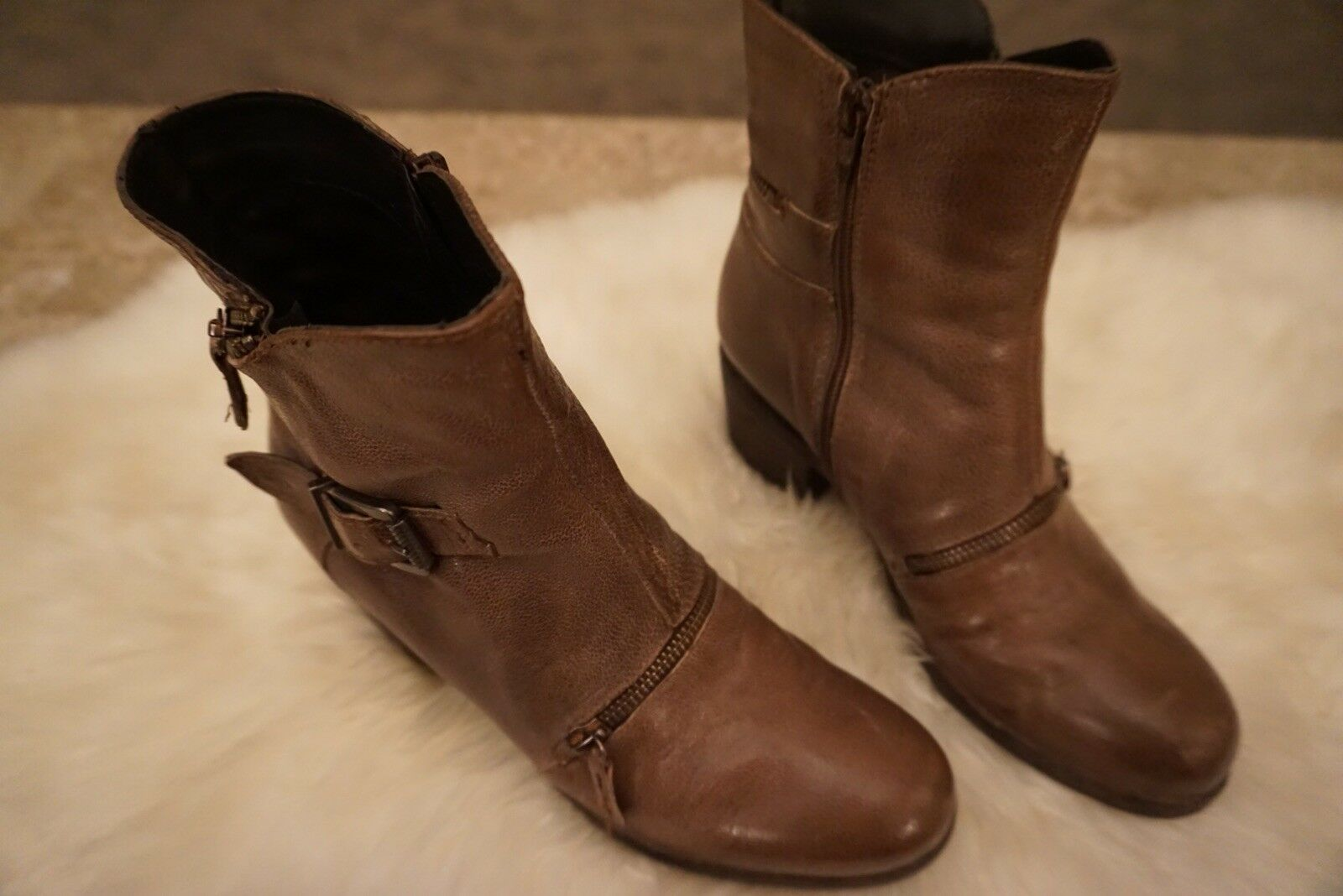 Gregory's Gregory's Gregory's FSF Belted Zipper Ankle Boot 5cbfd2