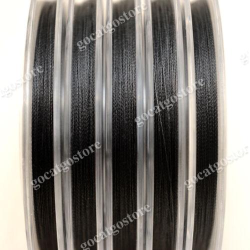 NEW Sea Lion 100/% Dyneema Spectra Braid Fishing Line 500M 30lb Black