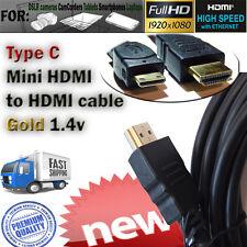 Type C Mini HDMI Cable for Nikon D5100/D7000/D3100/D3200/D700