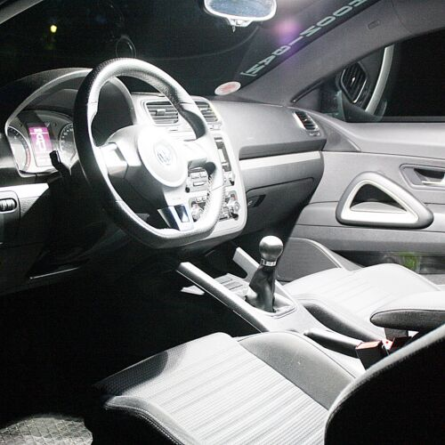 2x LED Modulplatine Set Blue White Footwell Lighting Circuit Board Module Seat