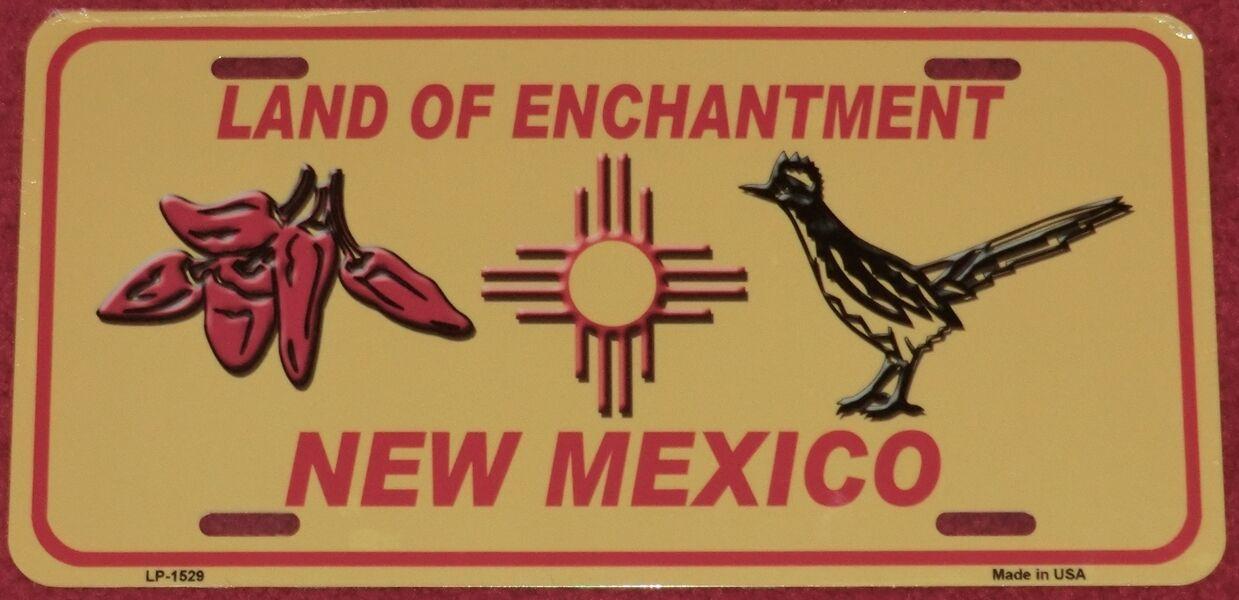 Blechschild NEW MEXICO 30x15cm Neu USA  Autoschild License Plate