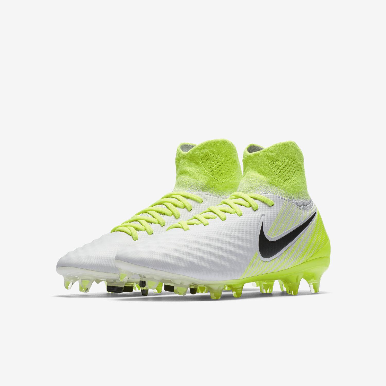 buy popular 70fa9 bcfa7 Scarpe da calcio calcio calcio bimbo Nike Jr Magista Obra FG 844410 109  bianco-giallo-nero 78b4d4