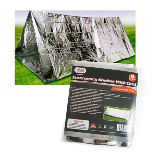 Outdoor Emergency Tente Couverture Sac de couchage survie Réfléchissant abri camping