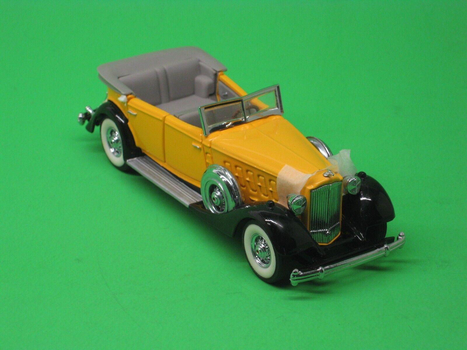 deportes calientes Packard converdeible 1934 amarillo franklin franklin franklin mint 1 43 Precision models b11rb75  te hará satisfecho