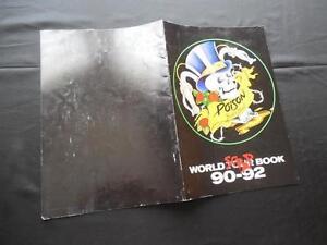 POISON-1990-1992-Poison-Flesh-Blood-World-Scrap-TOUR-PROGRAM-BOOK