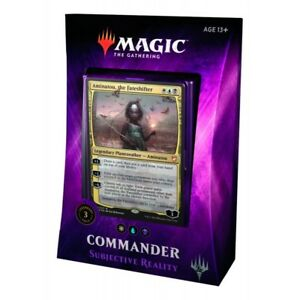 Subjective-Reality-Magic-the-Gathering-Commander-2018-C18-New-Sealed-MtG-Deck
