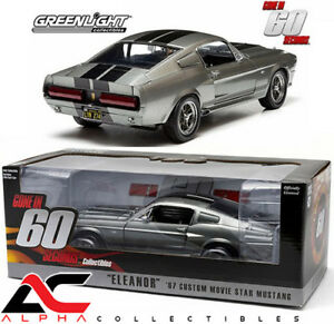 GREENLIGHT-12909-1-18-1967-FORD-MUSTANG-CUSTOM-ELEANOR-GONE-IN-60-SECONDS