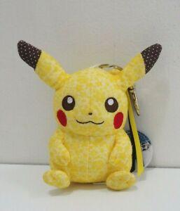 Pikachu-Pokemon-Center-2012-Mascot-Keychain-Plush-Stuffed-Toy-Doll-Japan