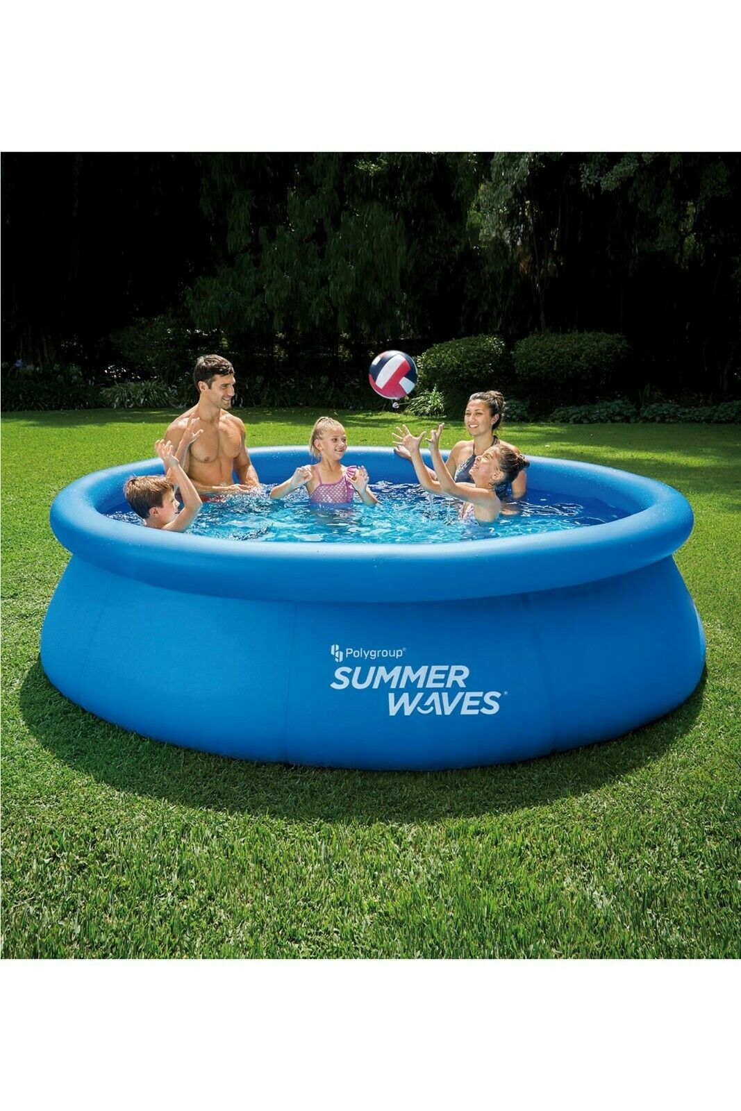 Summer Waves 10ft Quick Set Ring Pool Brand New - Collection from Bagshot