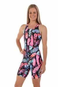 Nova-Swimwear-Ladies-Knee-Length-Peacock-One-Piece-Chlorine-Resistant-Swimsuit