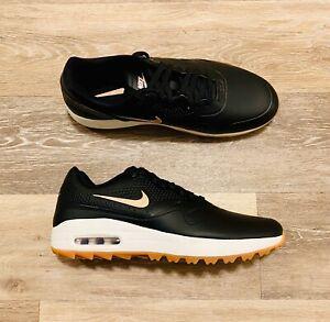 Nike Air Max 1 G Golf Shoe Black Rose