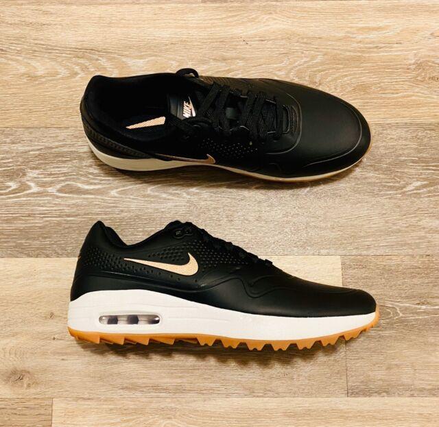 Size 6.5 - Nike Air Max 1 Golf Black Gum