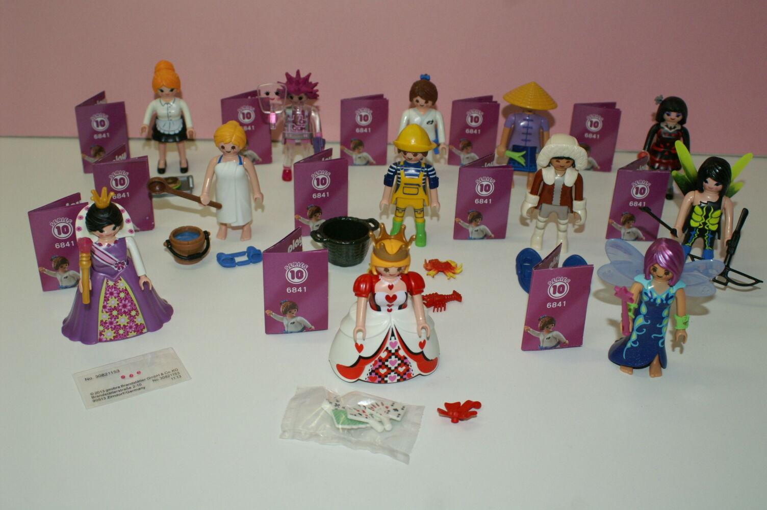 Playmobil Playmobil Playmobil 6841 Figures Girls Serie 10 alle 12 Figuren 3757e8