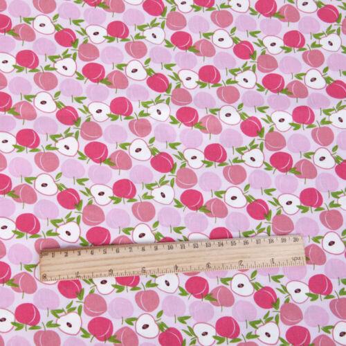 100/% Tela De Algodón Patchwork Cuadrados Acolchado Costura Estampado de Frutas Paño 50*145cm