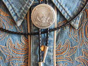 NEW RED ABALONE  BOLO BOOTLACE TIE  LEATHER CORD SILVER  METAL  WESTERN COWBOY