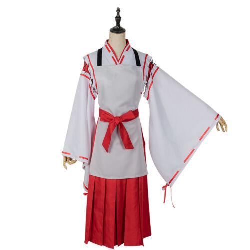 Anime Sewayaki Kitsune no Senko-san Senko Wig Cosplay Costume Fancy Dress Outfit