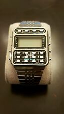Vintage Casio DataBank CD 401 Calculator Watch