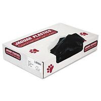 Jaguar Plastics Low-density Can Liners 20-30 Gallon .65mil Black 200/carton