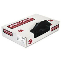 Jaguar Plastics Low-density Can Liners 20-30 Gallon .65mil Black 200/carton