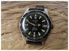 SUPER RARE COLMONS AUTOMATIC VINTAGE DIVER SUB WATCH UHR MONTRE 38MM, WONDERFUL!