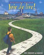 Joie de Lire!: Beginning Reader 1