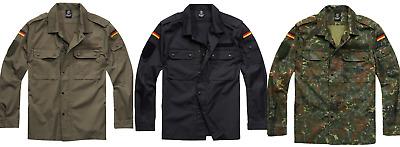 Brandit BW Bundeswehr Feldbluse S 5XL Herren Armee Feldhemd