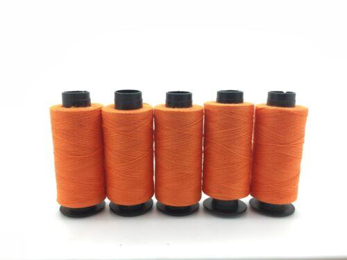 Nuevo 5 X 100/% Puro Algodón Hilo de Coser Bobinas Colores Surtidos