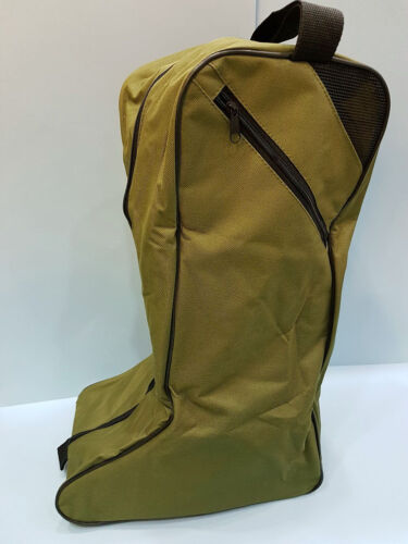 CLEARANCE  Green Wellington Zipped Boot Bag Farming Gardening Fishing Storage
