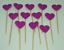 12-Paillettes-Coeur-Cupcake-Toppers-Parti-Decoration-cup-cake-topper-Food-drapeaux miniature 10