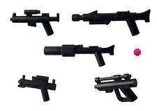 Little Arms: 5-teiliges Star Wars Waffenset in schwarz + LEGO Blume *BT10651