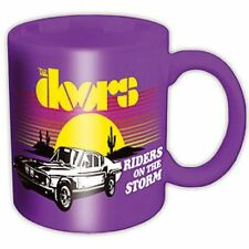 THE DOORS MUG - Riders On The Storm Purple Cup - Jim Morrison