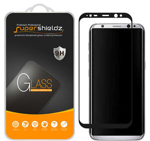 meet 141f1 1ed8f Details about Supershieldz for Samsung Galaxy S8 Full Cover Tempered Glass  Screen Protector