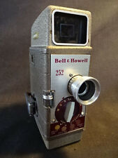 Old Vtg Bell & Howell #252 8MM Movie Camera Photography