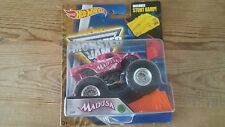 Hot Wheels Madusa monster truck jam with stunt ramp 2016 special edition