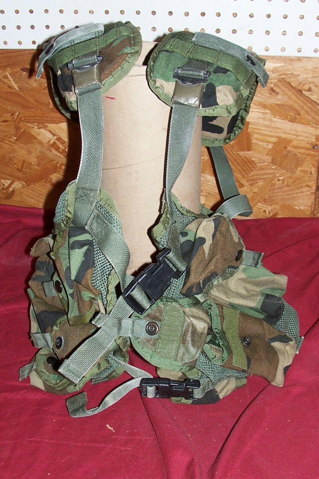 USGI Enhanced  Tactical Load Bearing Vest Ammo Grenade Pouches US Army GI Combat  all goods are specials