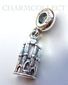 authentic pandora silver la sagrada familia dangle charm