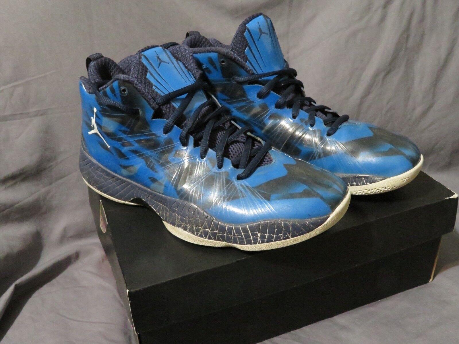 Herren Air Jordan 2012 Lite Ev Schuhe Foto Blau Weiß Schwarz 535859 407 Größe