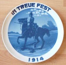 Rosenthal, Patriotischer Teller, in Treue Fest 1914, 1. Weltkrieg     (Art.2751)