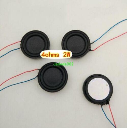 "2pcs 1/""inch 20MM 4Ω 2W full range Speaker Loudspeaker 4Ohm Ultra-thin Round"