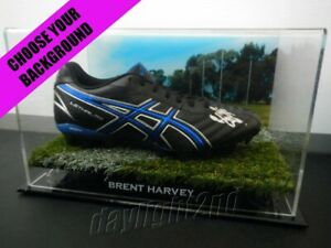 Signed-BRENT-HARVEY-Boot-PROOF-COA-North-Melbourne-Kangaroos-2019-Guernsey