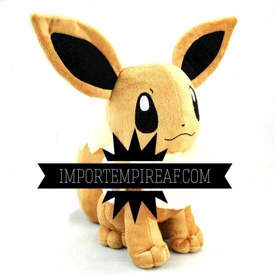 Pokemon Eevee Plüsch 35 cm big riesige Plush doll 133 Fox Vaporeon xd x y Fox