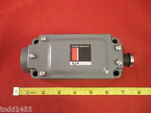 Cutler-Hammer-10316H18D-Limit-Switch-Body-SPDT-600V-1NO-1NC-24480-10316H18-New